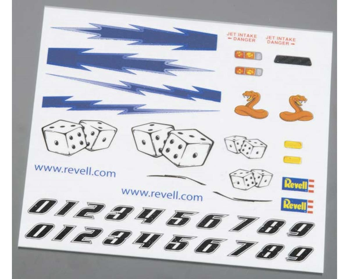 Revell Dry Transfer Decal D Pinewood Derby