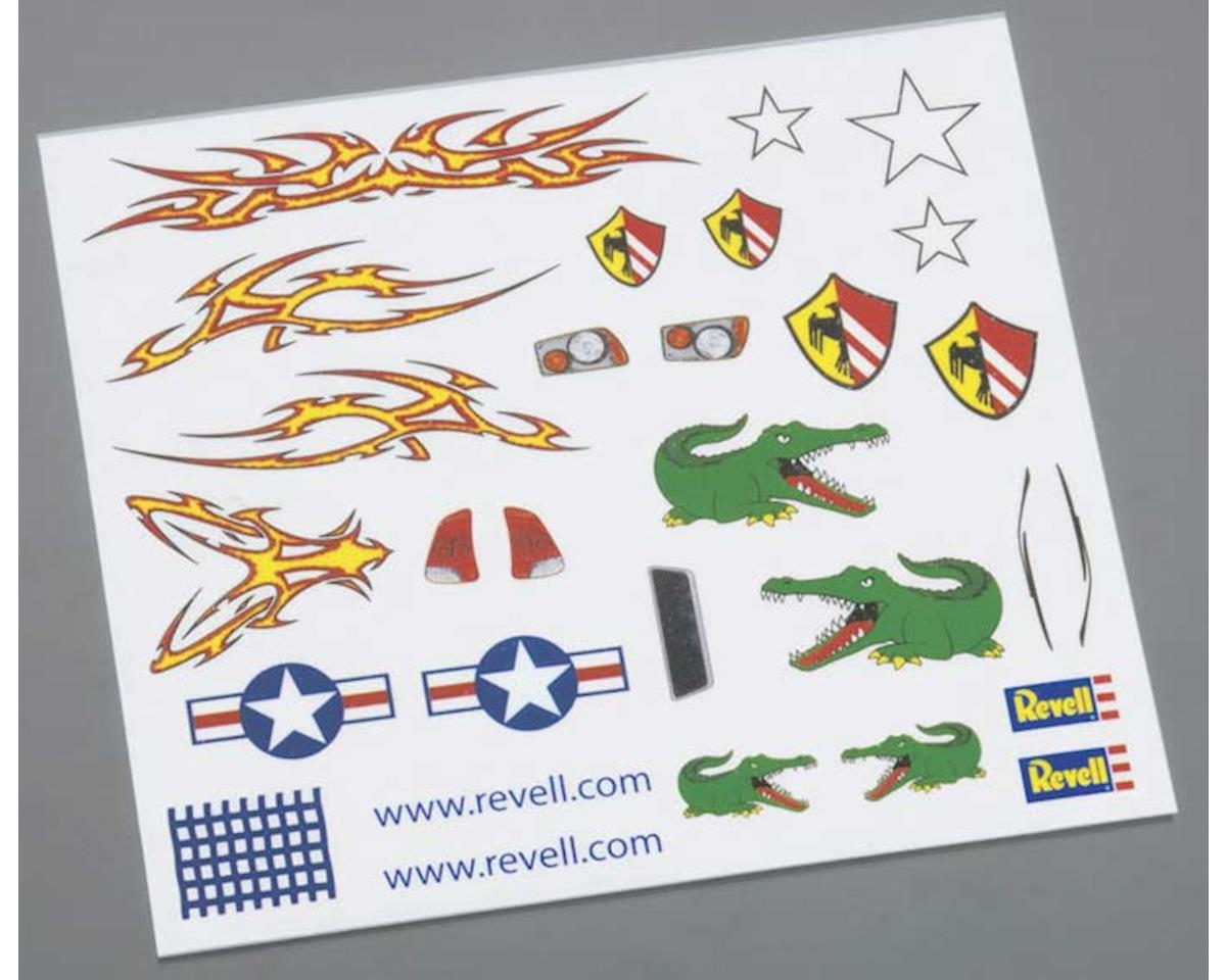 Revell Dry Transfer Decal E Pinewood Derby