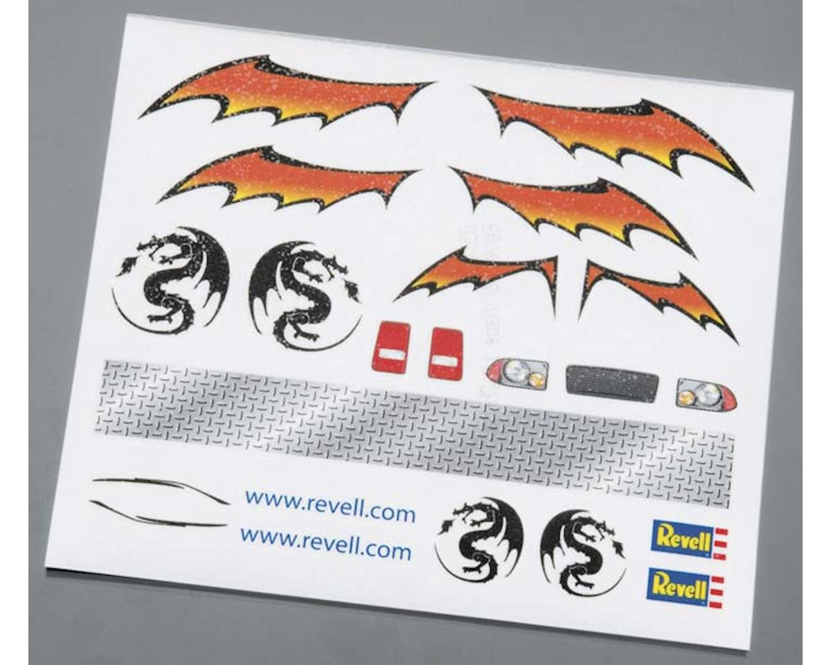 Revell Dry Transfer Decal F Pinewood Derby