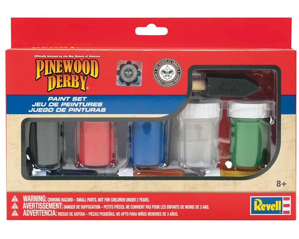 Revell Paint And Brush Set Pinewood Derby