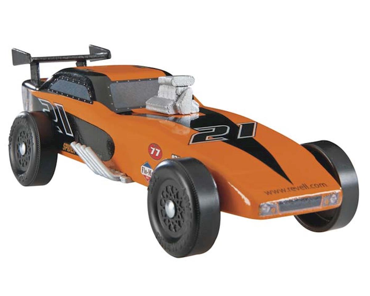 Revell Premium Racer Funny Car Kit Pinewood Derby