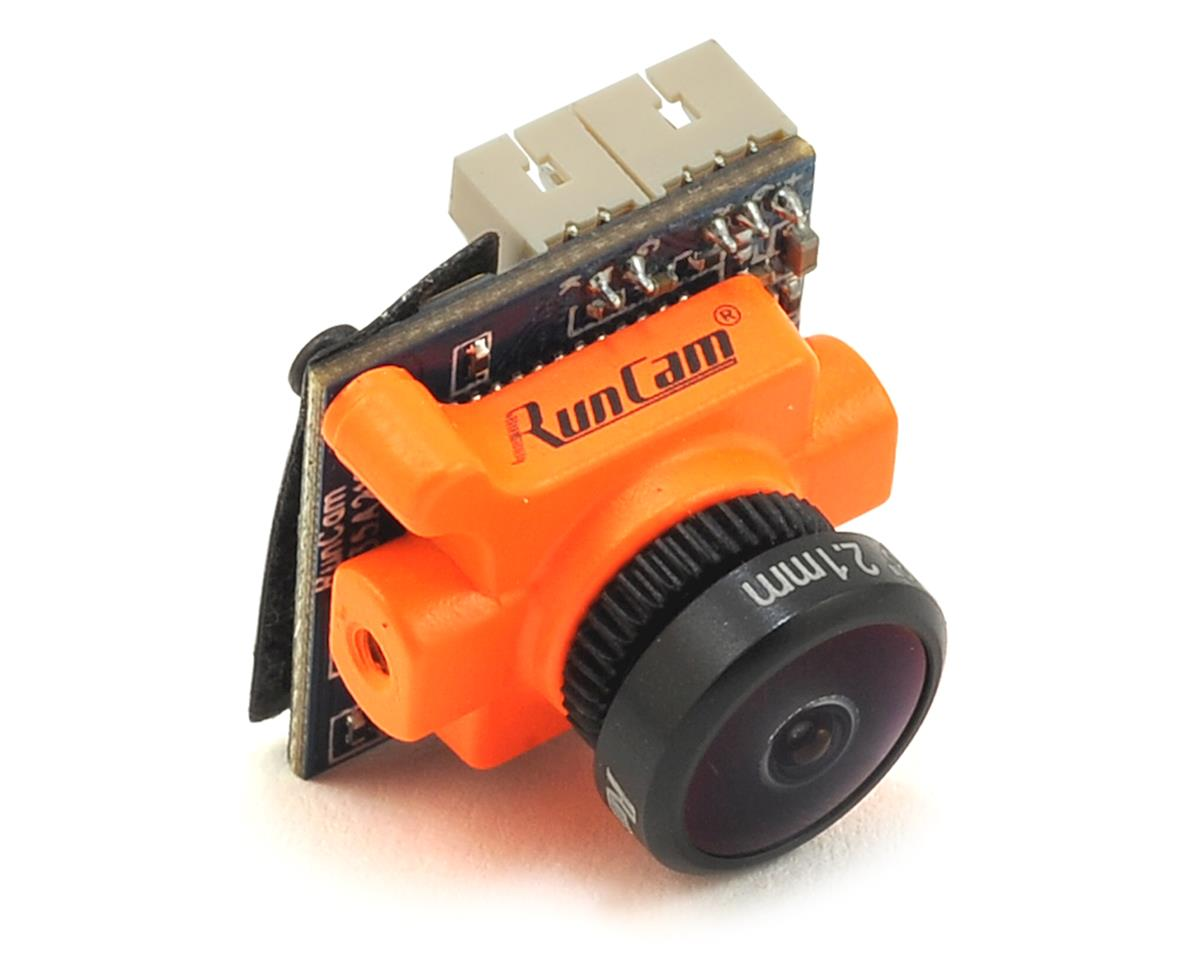 Micro Sparrow CMOS FPV Camera (2.1mm Lens) (Orange) by Runcam