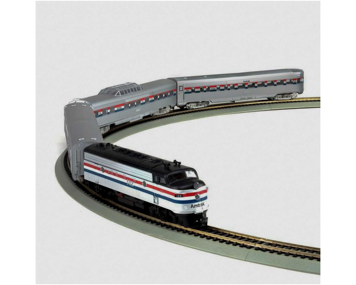 Roundhouse HO Streamliner Amtrak Train Set