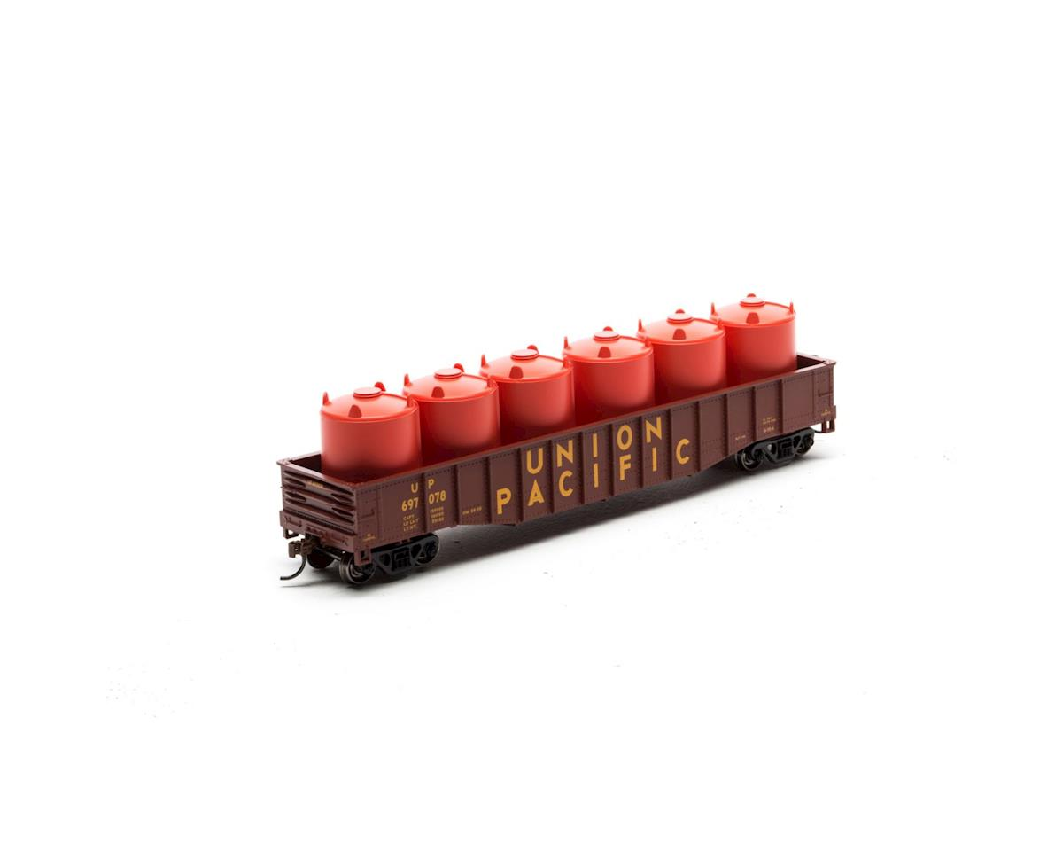 HO 50' Gondola w/Canisters Load, UP #697078