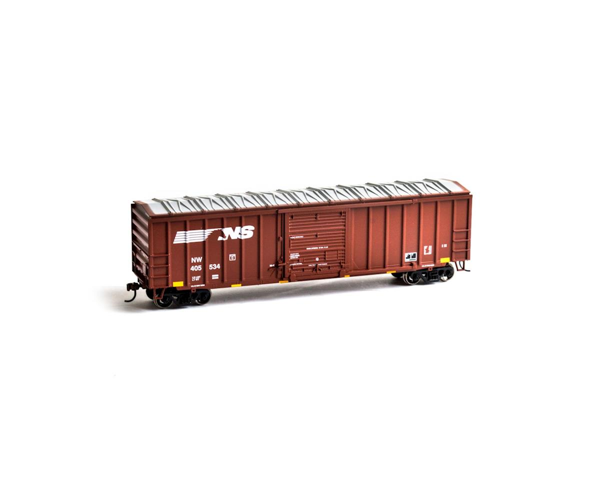 HO 50' ACF Outside Post Box, NS #405534 by Roundhouse