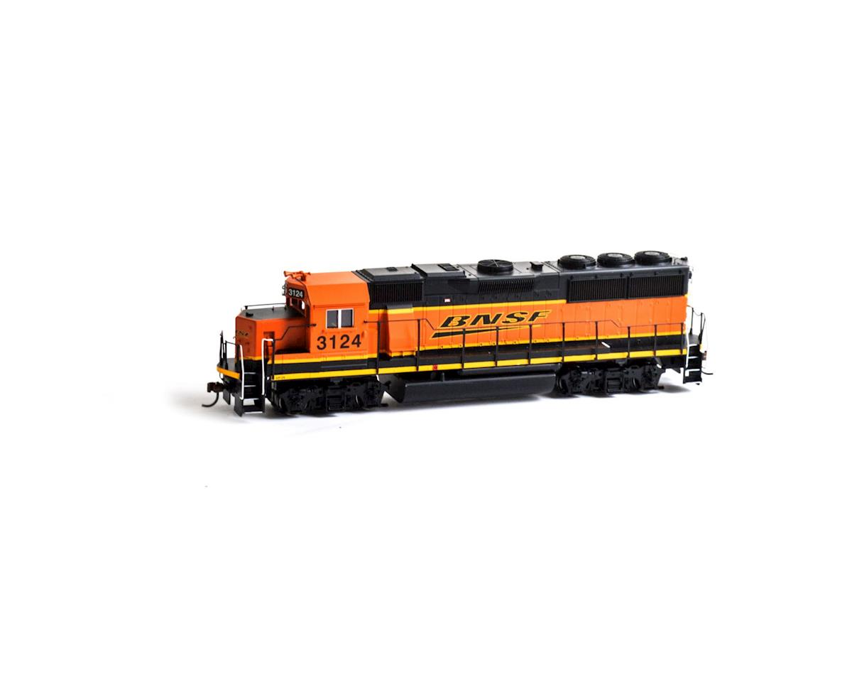 HO GP50 Phase 2, BNSF #3124 by Roundhouse