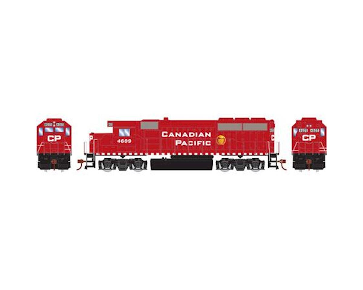 Roundhouse HO GP40-2, CPR #4609