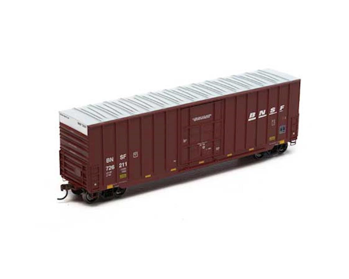 Roundhouse HO 50' Ext Post High Cube Plug Box, BNSF #726211