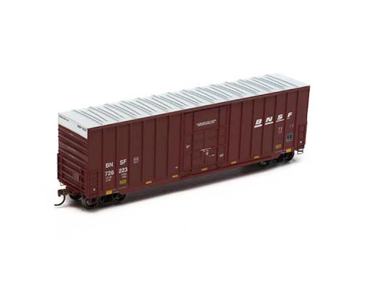 Roundhouse HO 50' Ext Post High Cube Plug Box, BNSF #726223