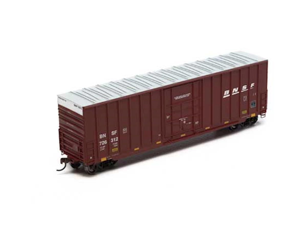 Roundhouse HO 50' Ext Post High Cube Plug Box, BNSF #726312