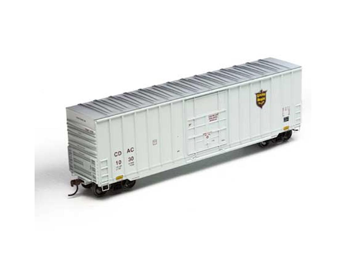 Roundhouse HO 50' Ext Post High Cube Plug Door Box,CDAC #1030