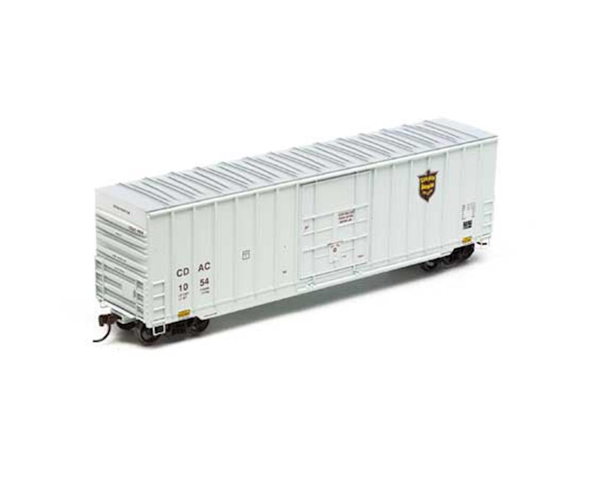 Roundhouse HO 50' Ext Post High Cube Plug Door Box,CDAC #1054