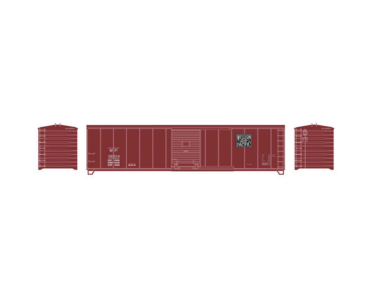 Roundhouse HO 50' Single Door Box, WP #36024
