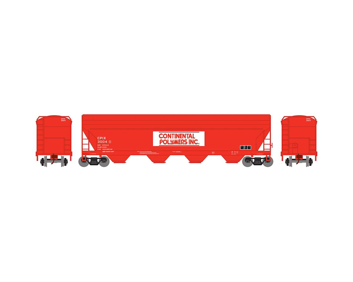 Roundhouse HO ACF Centerflow Hopper,Continental Polymers#3004