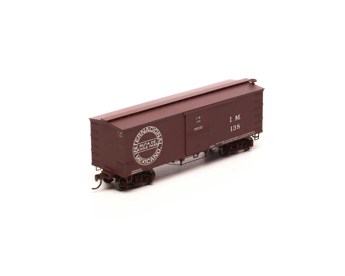 HO 36' Old Time Wood Box, IM #138 by Roundhouse
