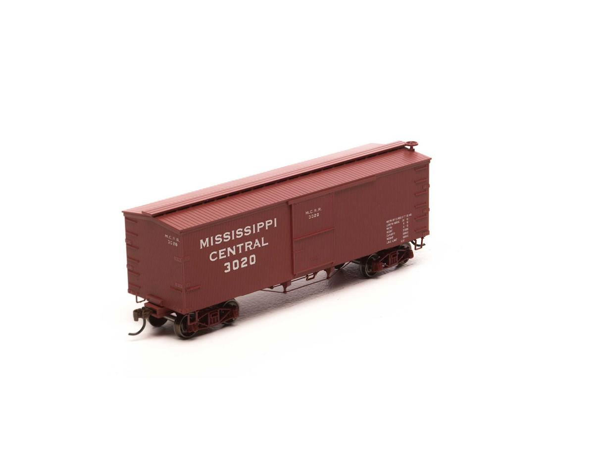 Roundhouse HO 36' Old Time Wood Box, MSC #3020