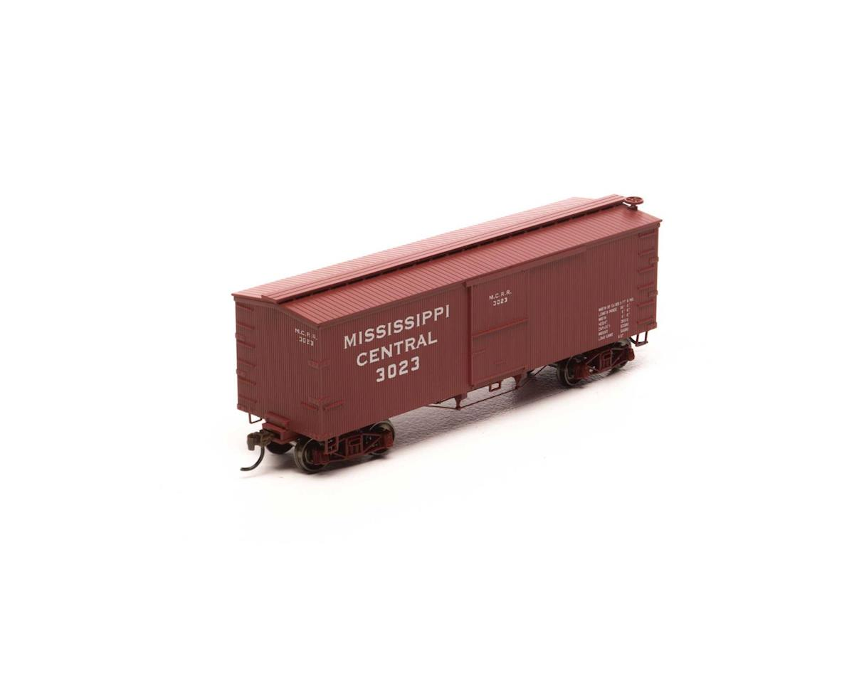 Roundhouse HO 36' Old Time Wood Box, MSC #3023