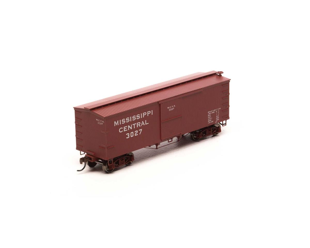 Roundhouse HO 36' Old Time Wood Box, MSC #3027