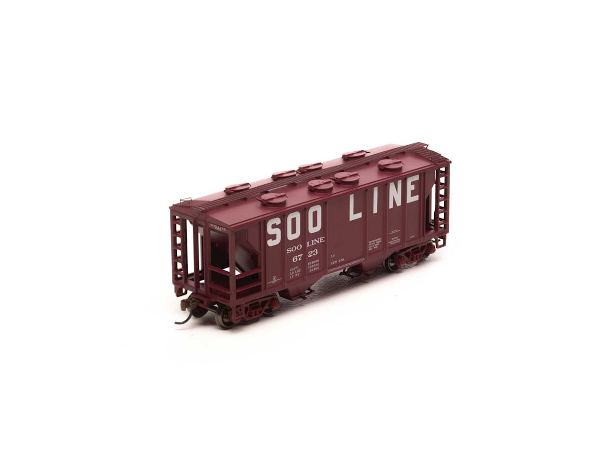 HO PS-2 2003 2-Bay Cov Hopper, SOO #6723