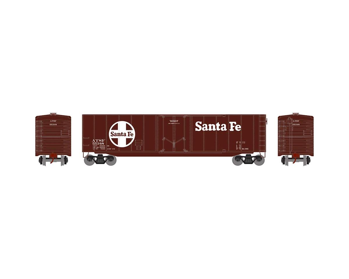 Roundhouse HO 50' Plug Door Smooth Side Box, SF #55348