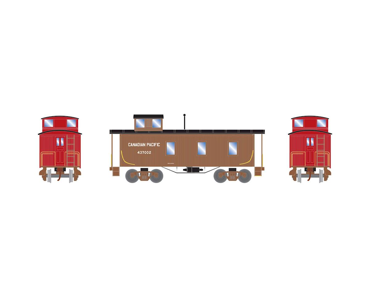 Roundhouse HO 30' 3-Window Caboose, CPR #437002