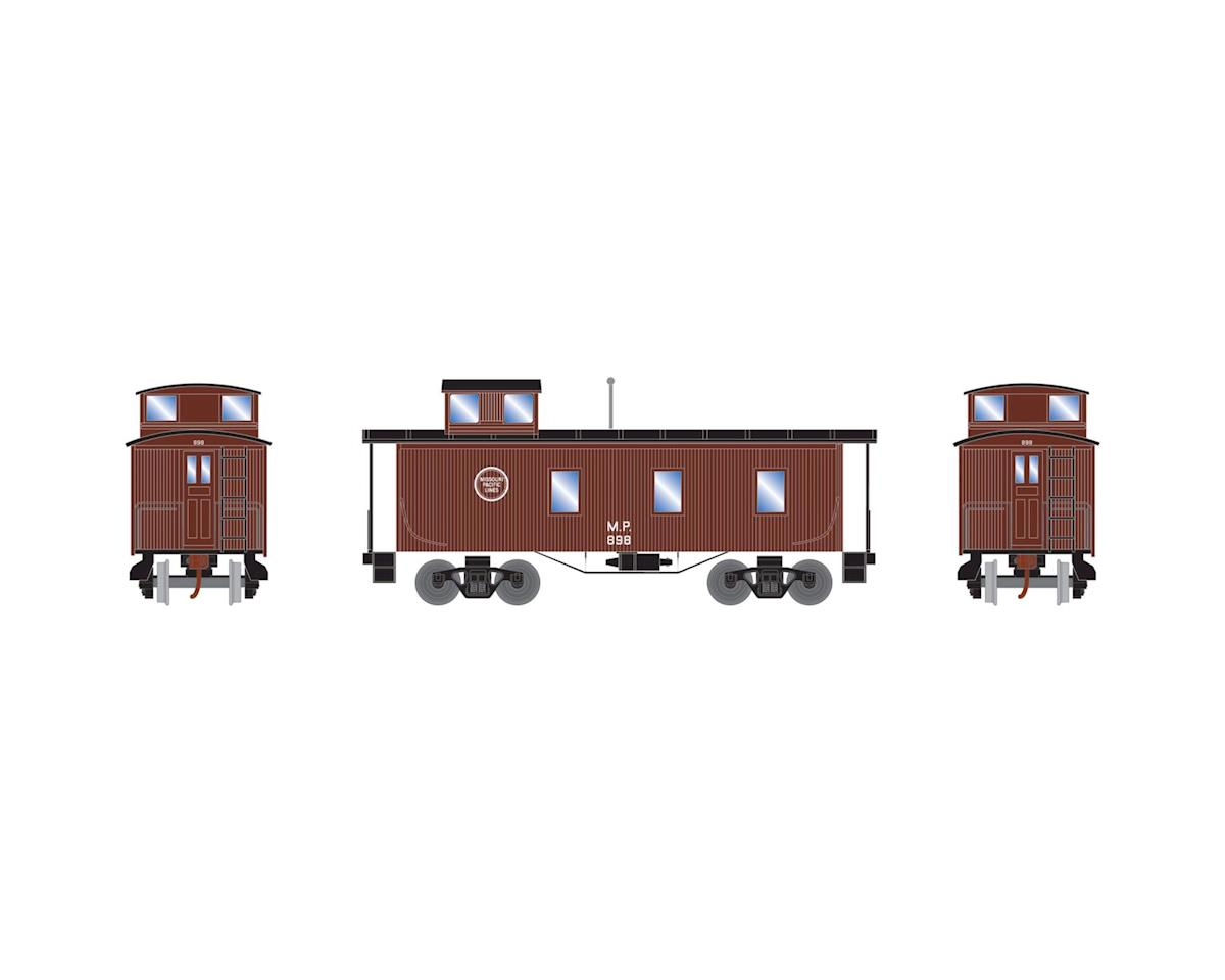 Roundhouse HO 30' 3-Window Caboose, MP #898