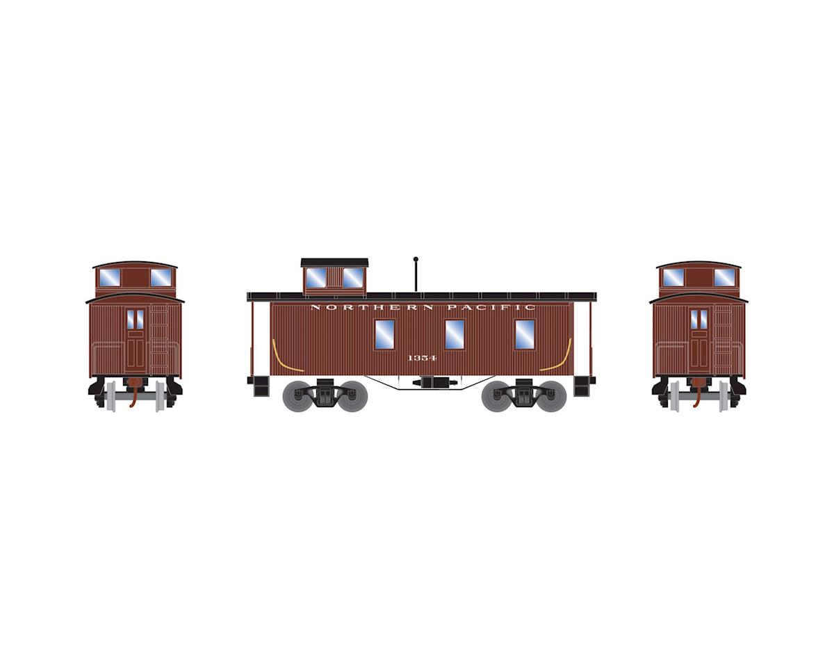 Roundhouse HO 30' 3-Window Caboose, NP #1354