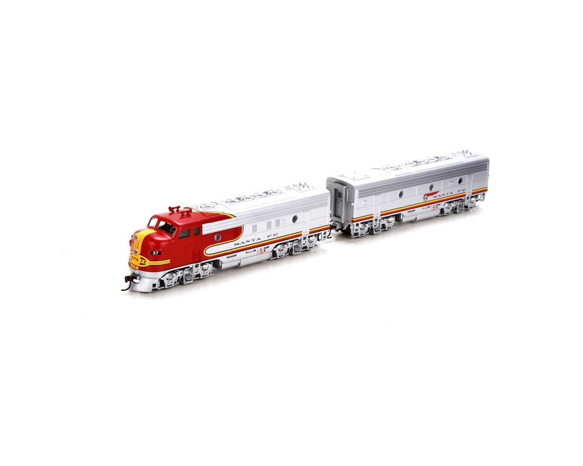 HO RTR F7A/B, SF/Warbonnet #37L/37A by Roundhouse