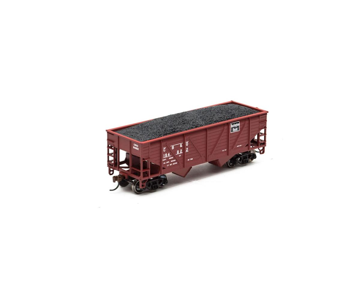 Roundhouse HO 34' 2-Bay Hopper w/Coal Load, C&O #53145