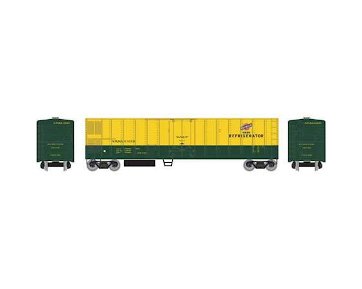 Roundhouse HO 50' Smooth Side Mechanical Reefer, C&NW #61013
