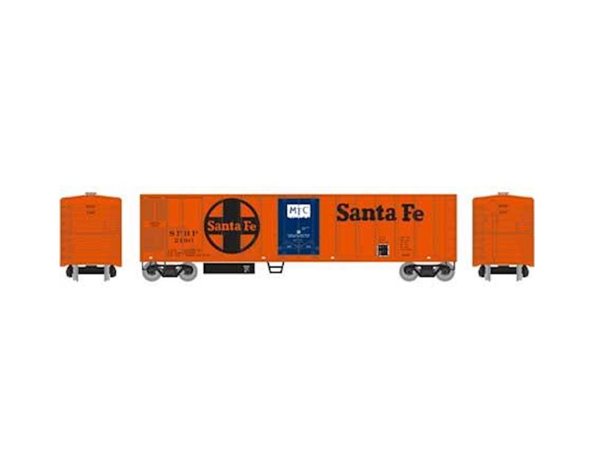 Roundhouse HO 50' Smooth Side Mechanical Reefer, SF #2190