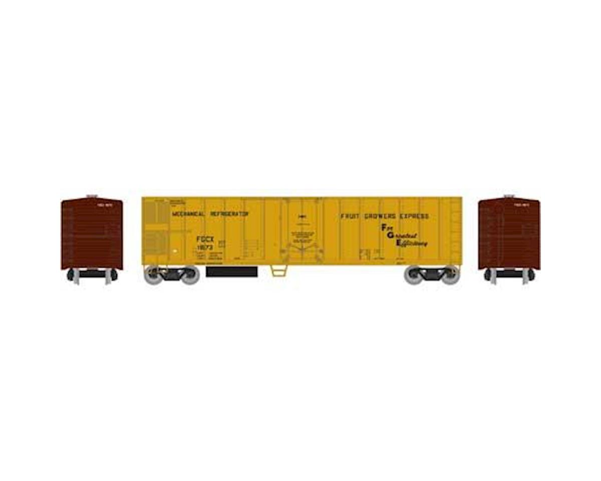 Roundhouse HO 50' Smooth Side Mechanical Reefer, FGE #11673