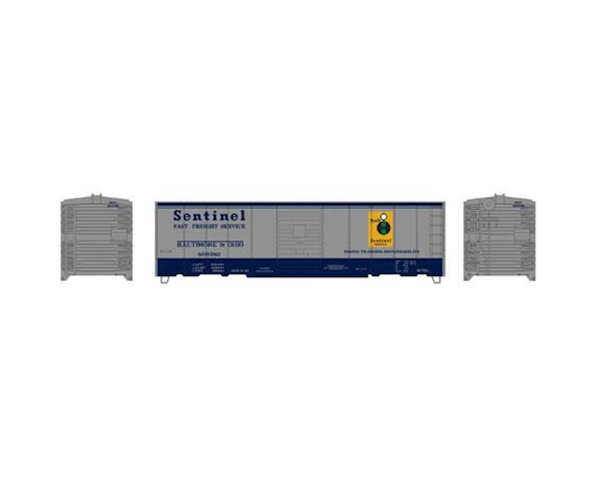 Roundhouse HO 40' Box Car Single Door, B&O #466182