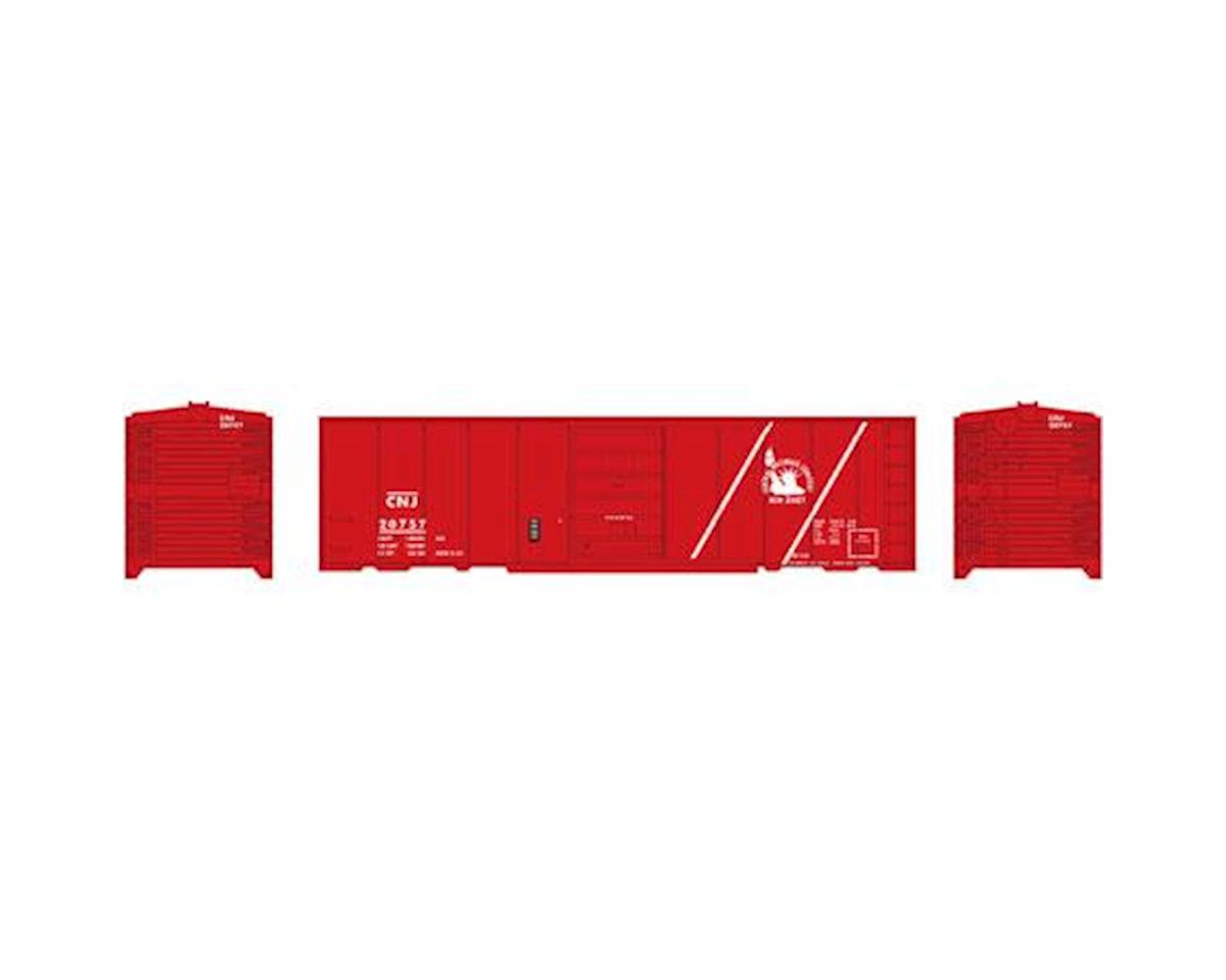 Roundhouse HO 40' Box Car Single Door, CNJ #20757