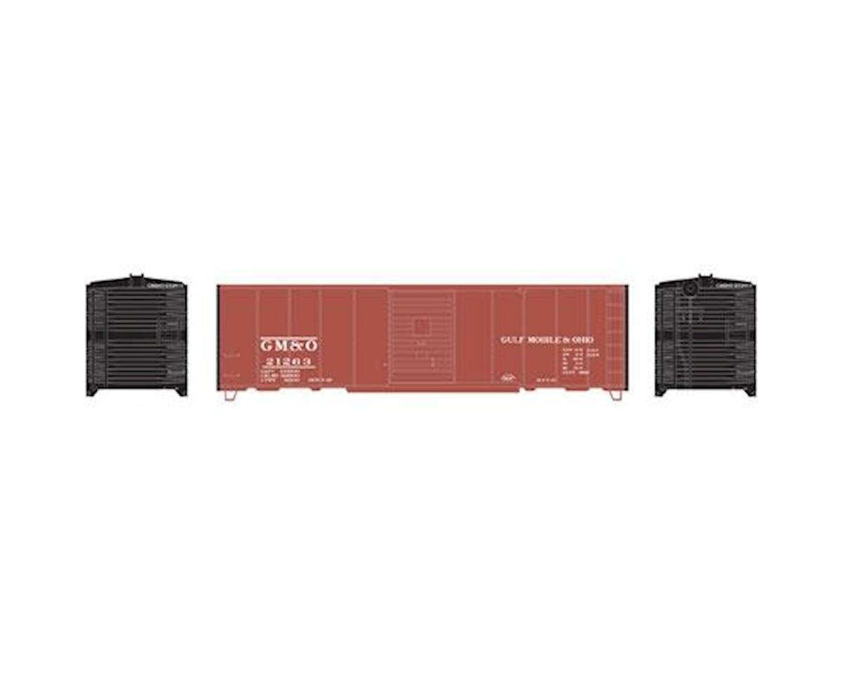 Roundhouse HO 40' Box Car Single Door, GM&O # 21263