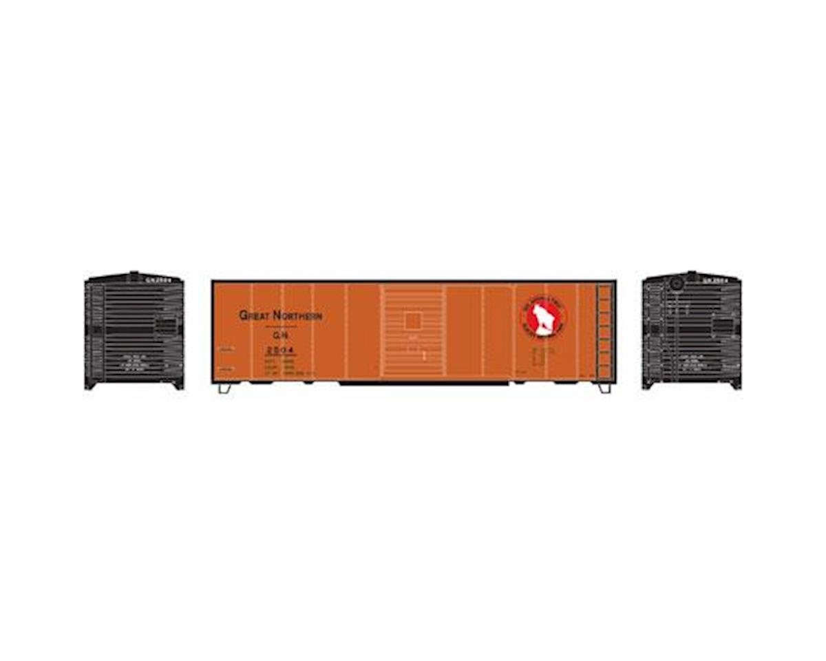 Roundhouse HO 40' Box Car Single Door, GN/Express #2504
