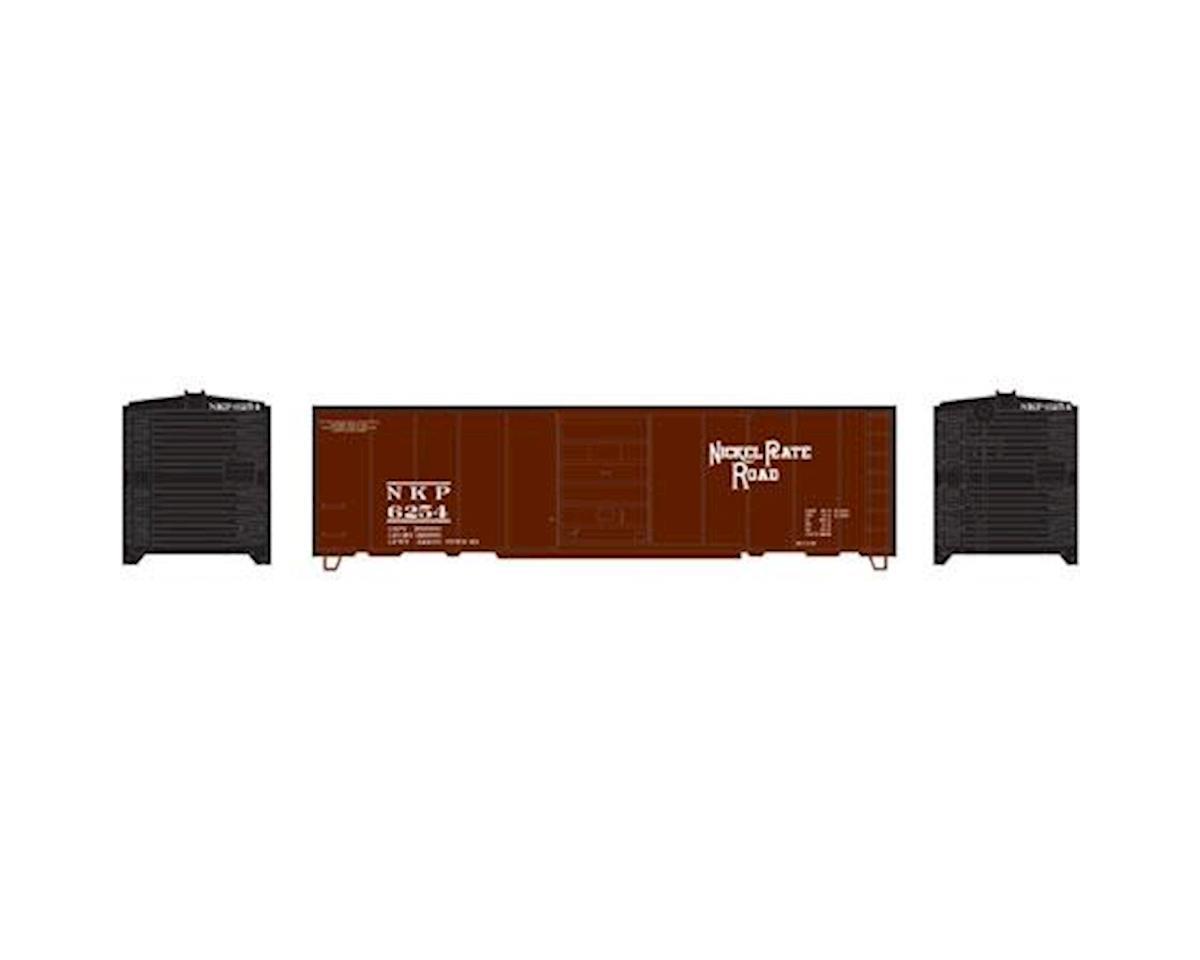 HO 40' Box Car Single Door, NKP #6254 by Roundhouse