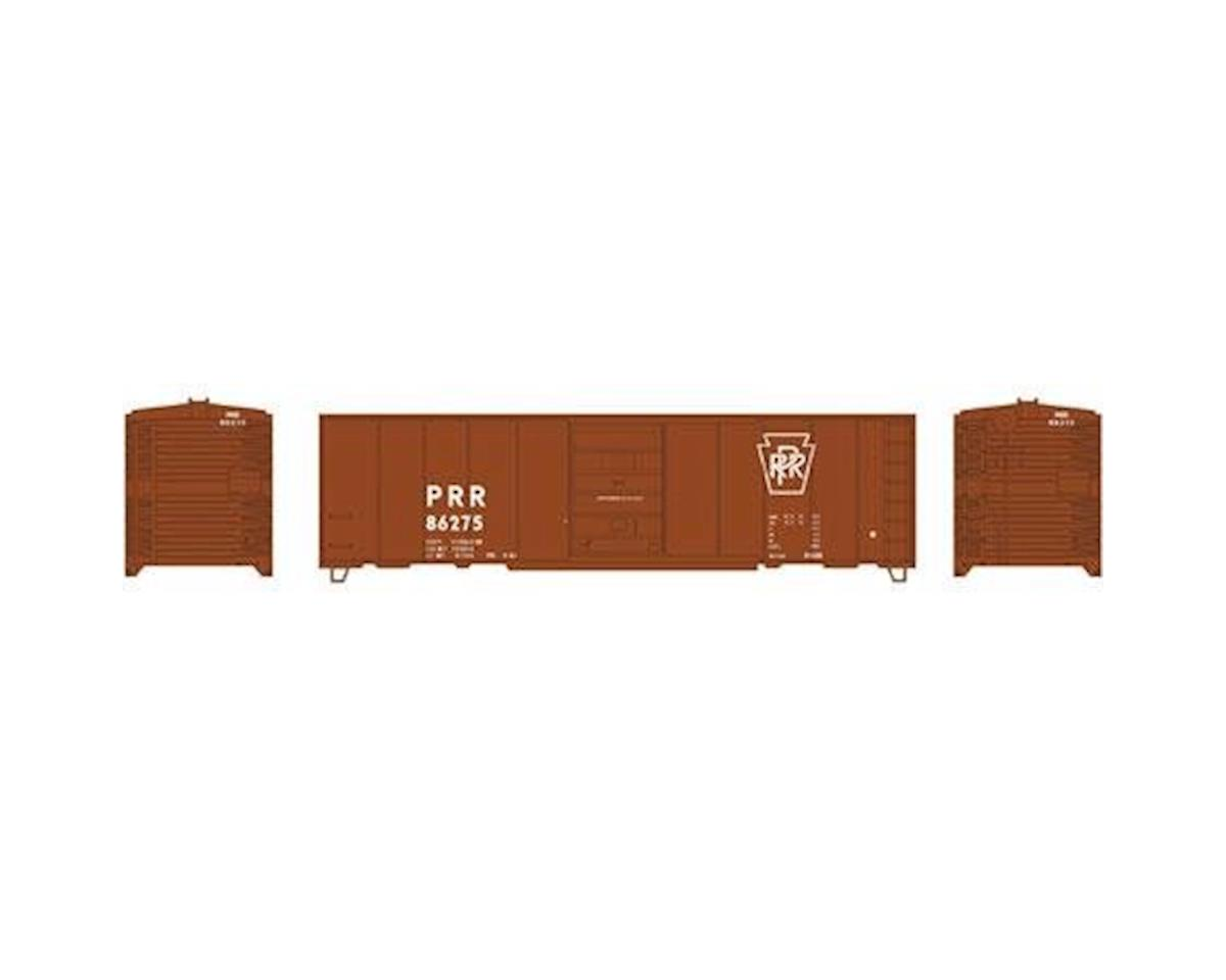Roundhouse HO 40' Box Car Single Door, PRR #86275