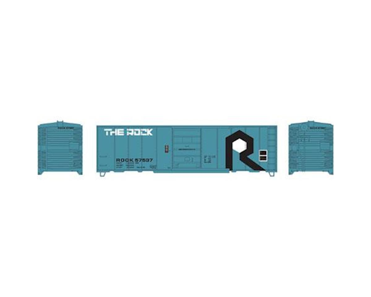 Roundhouse HO 40' Box Car Single Door, RI #57537