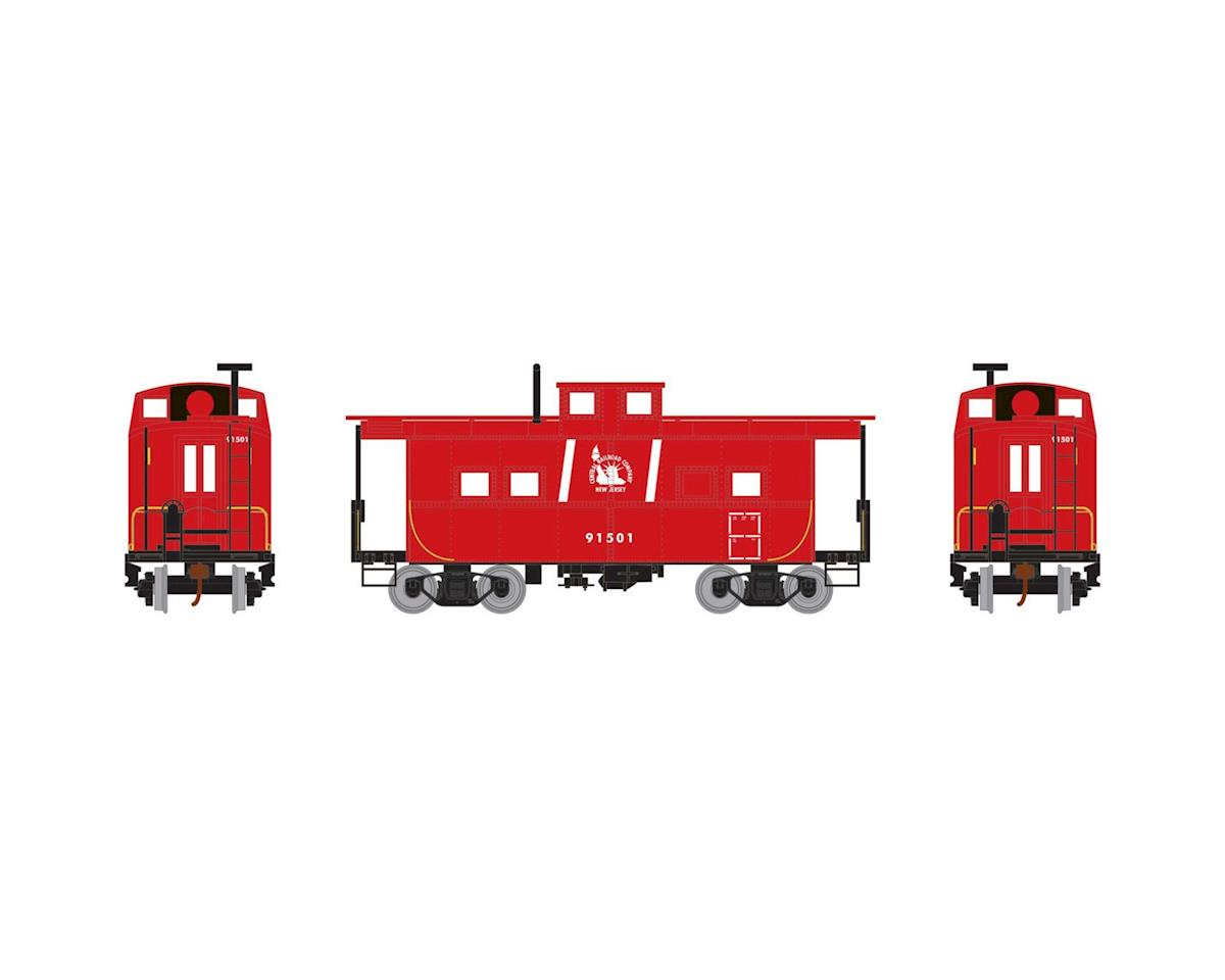 Roundhouse HO Eastern Caboose, CNJ #91501