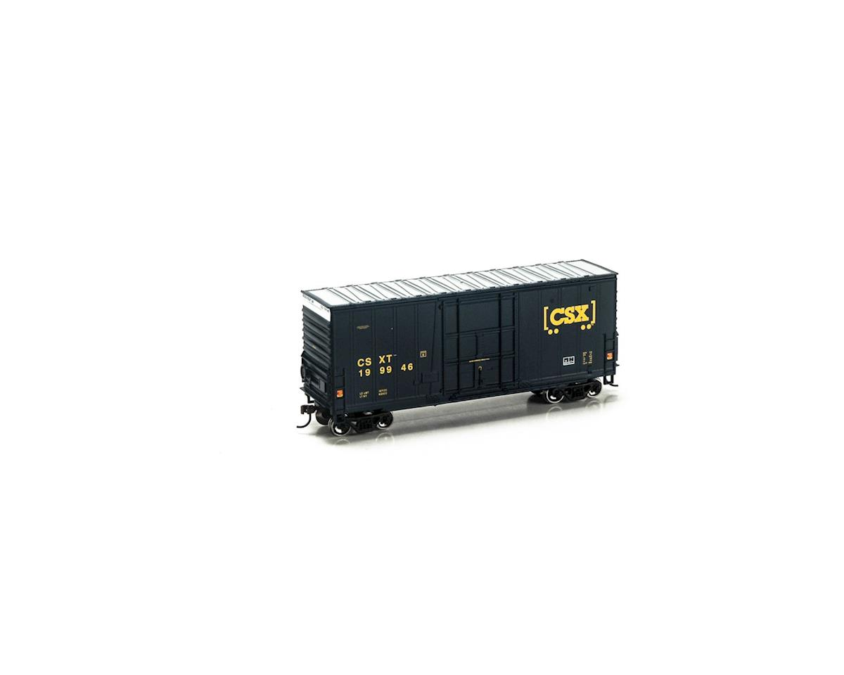 Roundhouse HO 40' High Cube Plug Door Box, CSX #199946