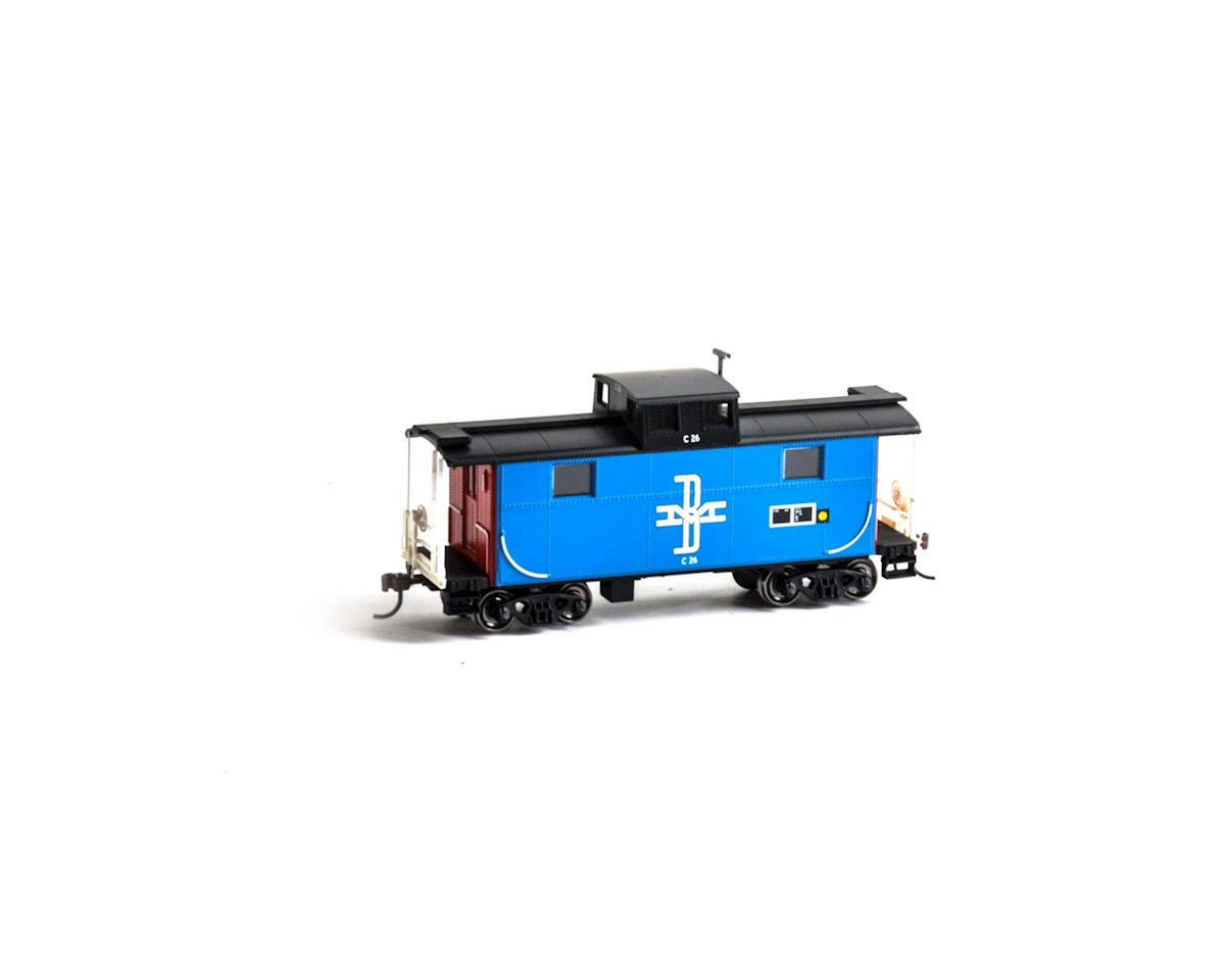 Roundhouse HO Eastern Caboose, B&M #C26