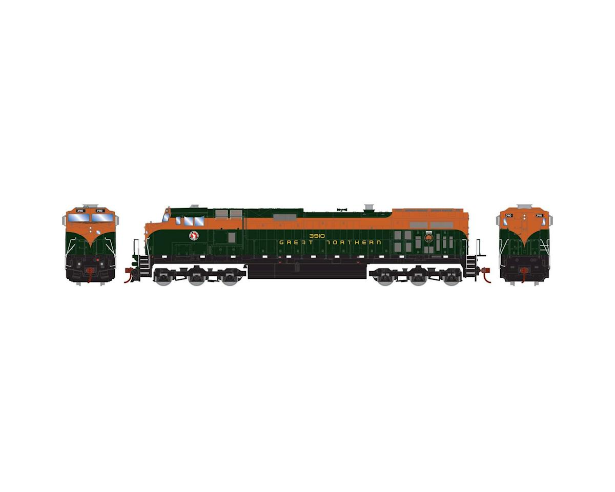 Roundhouse HO Dash 9-44CW, GN #3910