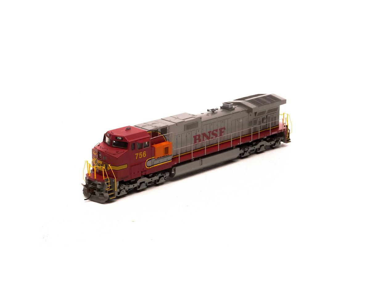 Roundhouse HO Dash 9-44CW, BNSF #756