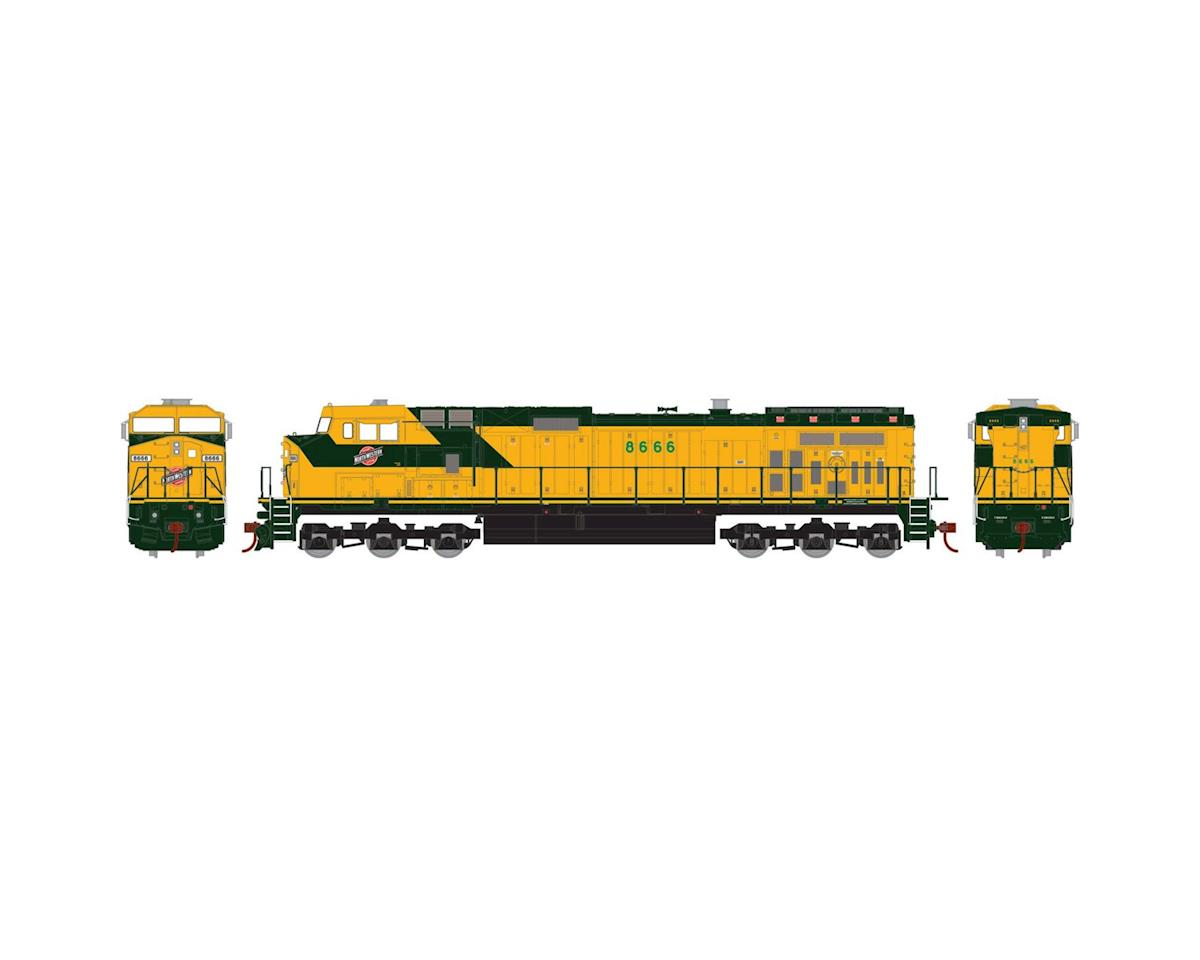 Roundhouse HO Dash 9-44CW, C&NW #8666