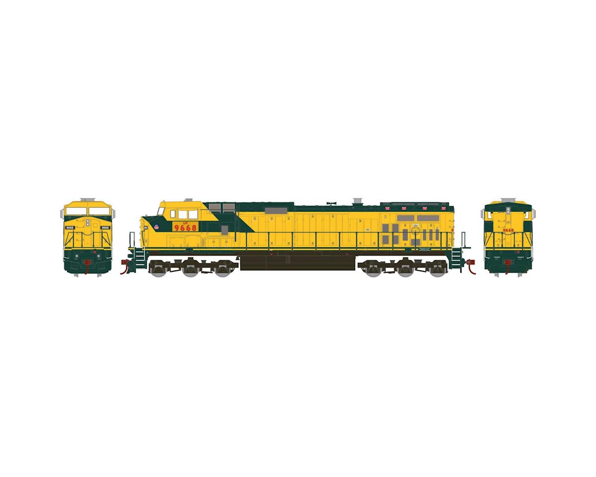 Roundhouse HO Dash 9-44CW, UP/Ex-C&NW #9668
