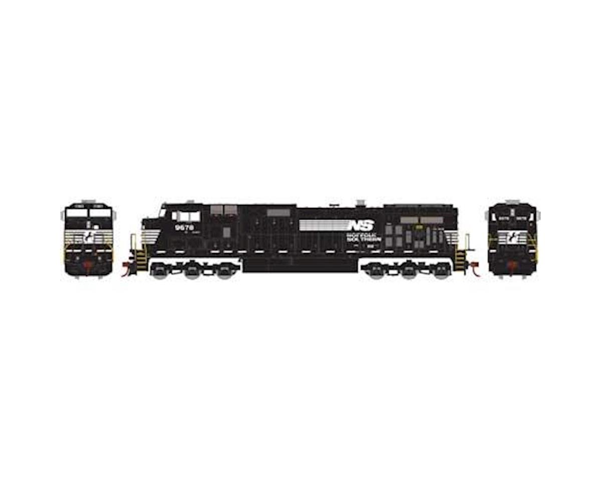 Roundhouse HO Dash 9-44CW, NS #9678