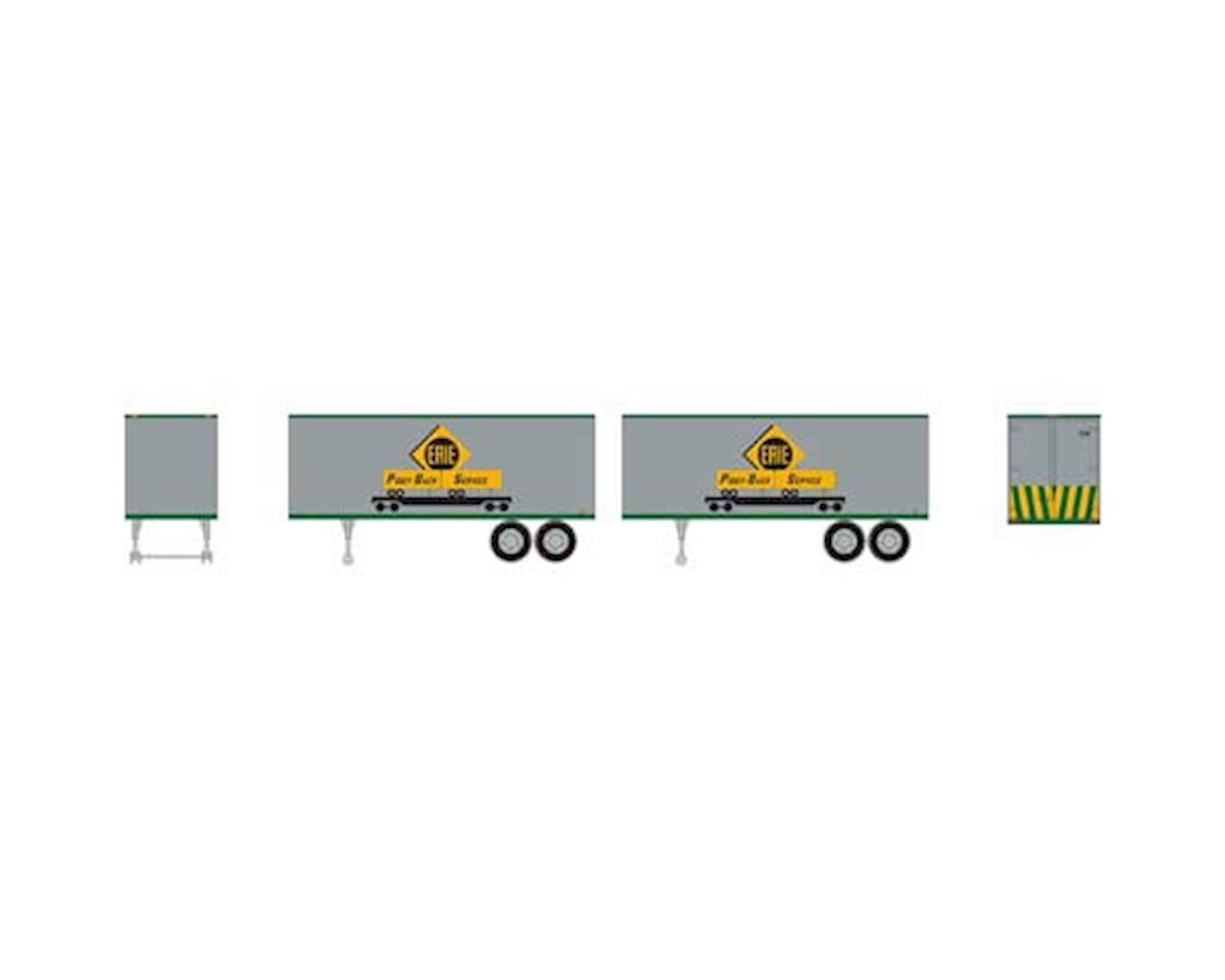 Roundhouse HO 25' Trailers, EL #2 (2)