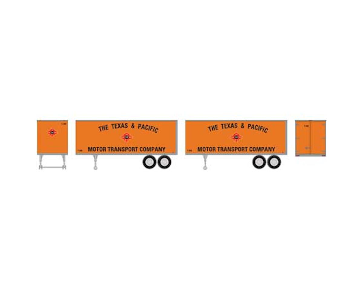 Roundhouse HO 25' Trailers, T&P #2 (2)