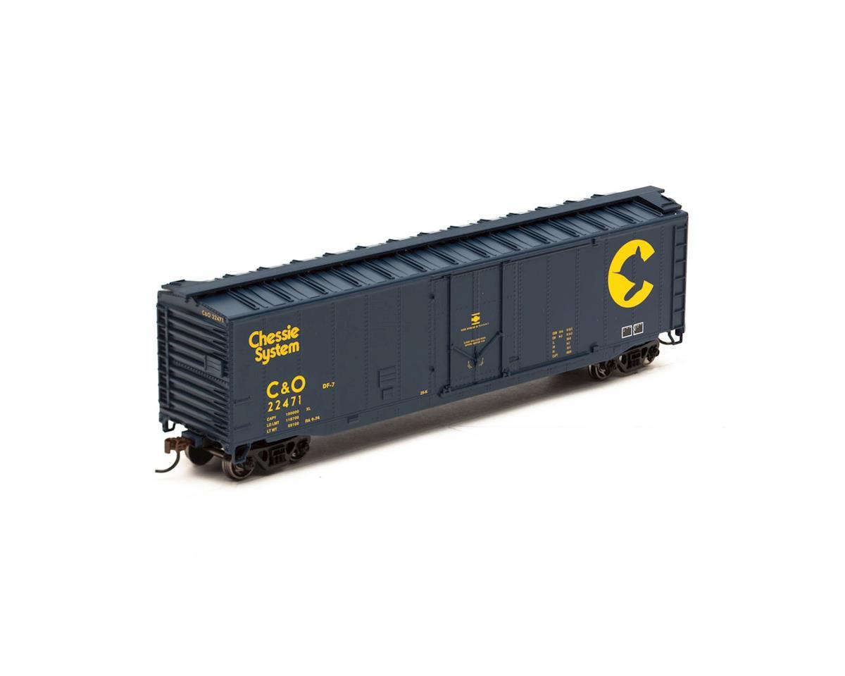 HO 50' Plug Door Box, C&O #22471
